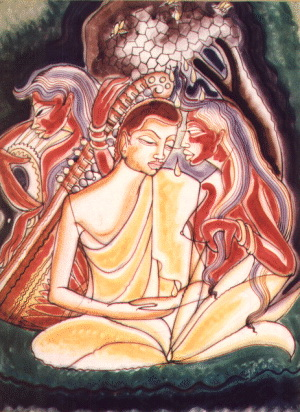 THE FULLY CONTROLLED PERSON IS CALLED A BHIKKHU